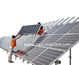 Thi công dự án năng lượng mặt trời công suất lớn