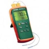 Máy đo nhiệt đô tiếp xúc 2 kênh kiểu K Extech EA10