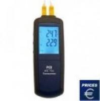 Thiết bị đo nhiệt độ tiếp xúc (- 200 ... 1.372 °C ) PCE-T312